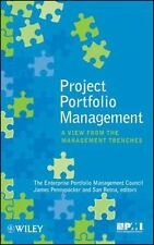 Project Portfolio Management : A View from the Management Trenches by...