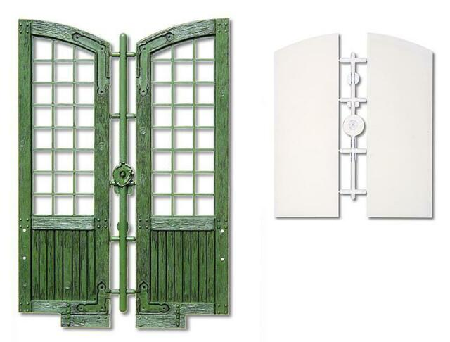 Pola Zubehör 333117 Spur G  8 x Fenster grün und Fensterglas