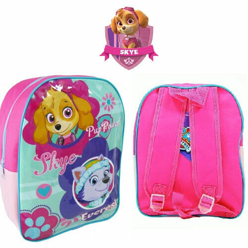 Paw Patrol Skye /& Everest Extra Large Arch Backpack School Bag Pup Power Pink