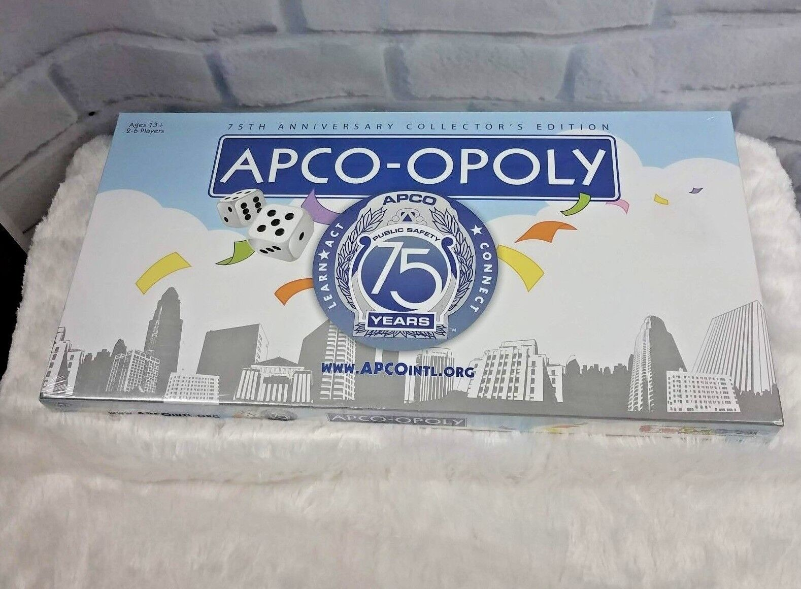 Apco-Opoly Game 75th Anniversary Collectors Edition Public Safety Communications