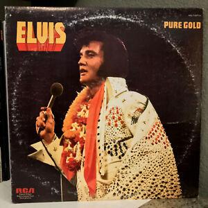 "ELVIS PRESLEY - Pure Gold (ANL 1-0971) - 12"" Vinyl Record LP - EX"