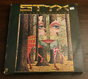 STYX-The-Grand-Illusion-Vinyl-LP-Rare-1977-Club-Press-SP-4637-Album-Record