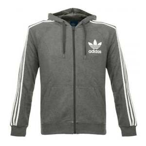 zippé Originals Cc à capuche Trefoil Sweat Td172 Small Adidas 12 IDHW29EeY