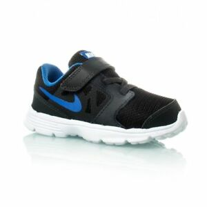 Details about Nike Downshifter 6 TD Athletic Shoes Child Size 7C Black Blue 684981 006