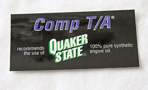 OEM-GM-SLP-Pontiac-Comp-T-A-Quaker-State-Underhood-Oil-Decals