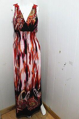 New Style Women Crochet Lace Back Summer Beach Sundress MAXI Evening/Party Dress