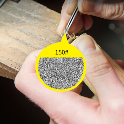 Details about  /30Pcs 3mm Diamond Drill Bits Set Burr Grinding Polishing Tool for Dremel Rotary
