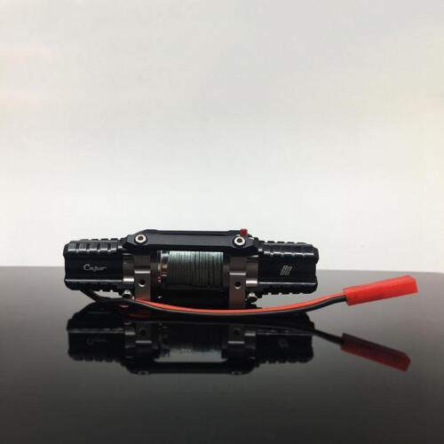 JKMAX ACE1 Twin Power Winch Double Motor Drive CAPO 1//8 RC Crawler Car Model