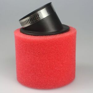 48mm-Angled-Foam-Air-Filter-Pod-for-125cc-150cc-PIT-Quad-Dirt-Bike-ATV-Buggy