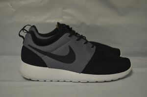 d4e6deb716301 Image is loading Nike-Roshe-One-Black-Cool-Grey-Size-9-