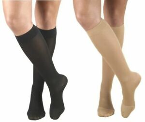 Truform 15-20 mmHg Compression Womens Knee Stockings