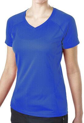 Herzhaft Berghaus Tech Ii Short Sleeve Womens Crew Neck Tee - Blue Reines Und Mildes Aroma