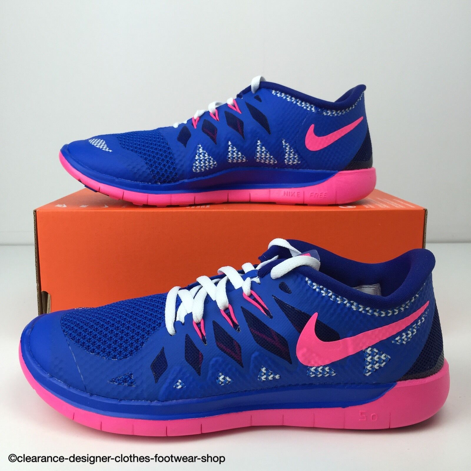 NIKE FREE 5.0 GS TRAINER GIRLS WO Hommes RUN RUNNING TRAINING SHOE5110