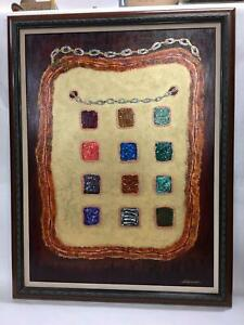Painting Of The Urim Thumim The Stones 12 Tribes Of Israel