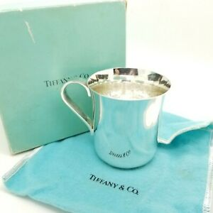 Tiffany & Co. Maker Sterling Silver Classic 2.5' In Child ...