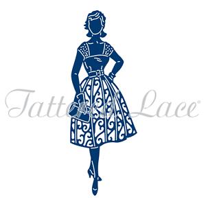 "Tattered Lace Dies ~ 60/'s Swing 1.85/"" x 4.96/"" TTLD0071 ~ RETIRED!"