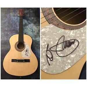 GFA Hooked on a Feeling B.J. THOMAS Signed Autograph Acoustic Guitar AD2 COA