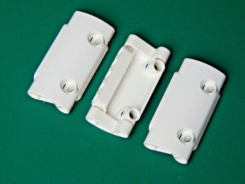 3x New Genuine White LEGO Technic Studless Curved Panels Brick 7x3 24119