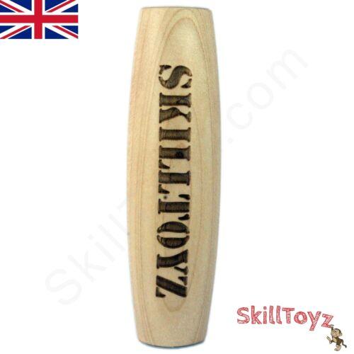 Kururin Table Skittle Desk Skill Toy Padauk or Maple Hardwood  UK SHOP  UK STOCK