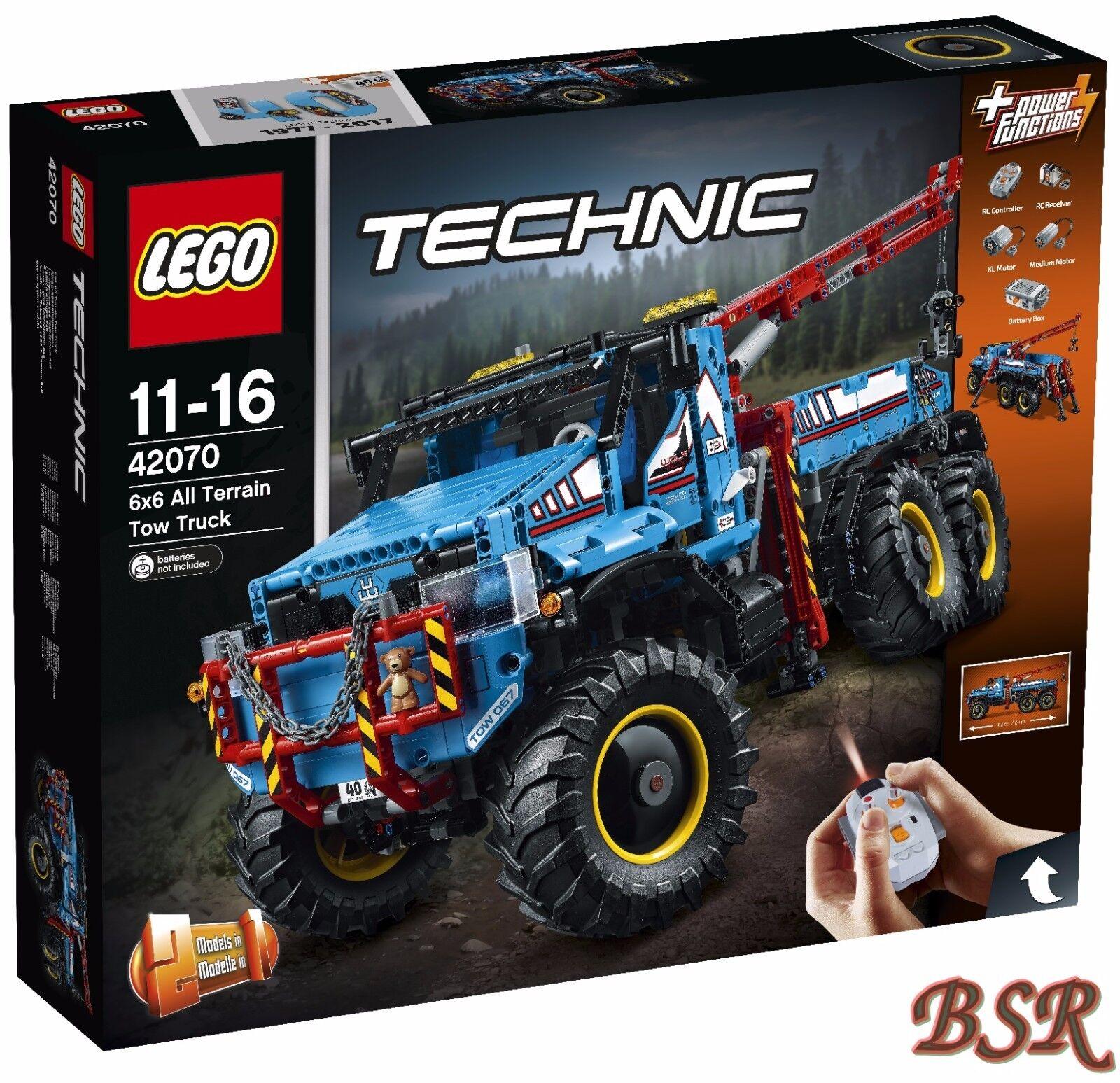 LEGO ® Technologie  42070 Roues-Dépanneuse & & & 0. - expédition & NOUVEAU & NEUF dans sa boîte 719817