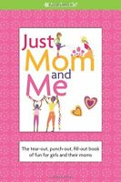 American Girl Book Just Mom & Me For Girls Spiral Illustrated Read 8+