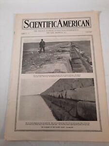 Vintage August 1912 Scientific American journal magazine advertisements adds
