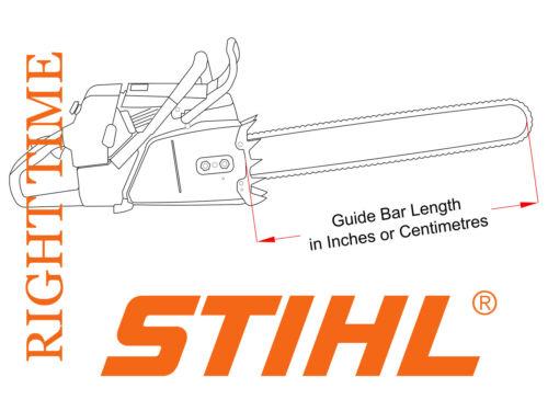 """STIHL MS170 tronçonneuse équipée avec 10/"""" Carving Kit Dime bar 1//4 Chain /& Sprocket"""