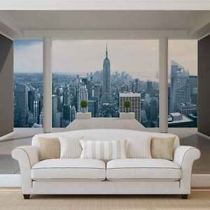 vlies fototapete fototapeten wandbild bild tapete 1323ve new york stadt ebay. Black Bedroom Furniture Sets. Home Design Ideas