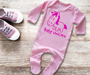 Baby & Toddler Clothing Boys' Clothing (newborn-5t) The Cheapest Price Baby's Long Sleeve Pink Rompersuit Bodysuit With Unicorn Baby Grow Sleepsuit Sales Of Quality Assurance