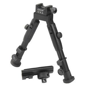 """6.5"""" Ccop Badger Tactique Chasse Picatinny Fusil Bipode 59 Mini-afficher Le Titre D'origine"""