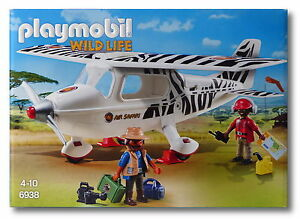 Safari Playmobil 6938 Flugzeug Neu+OVP aus 2016