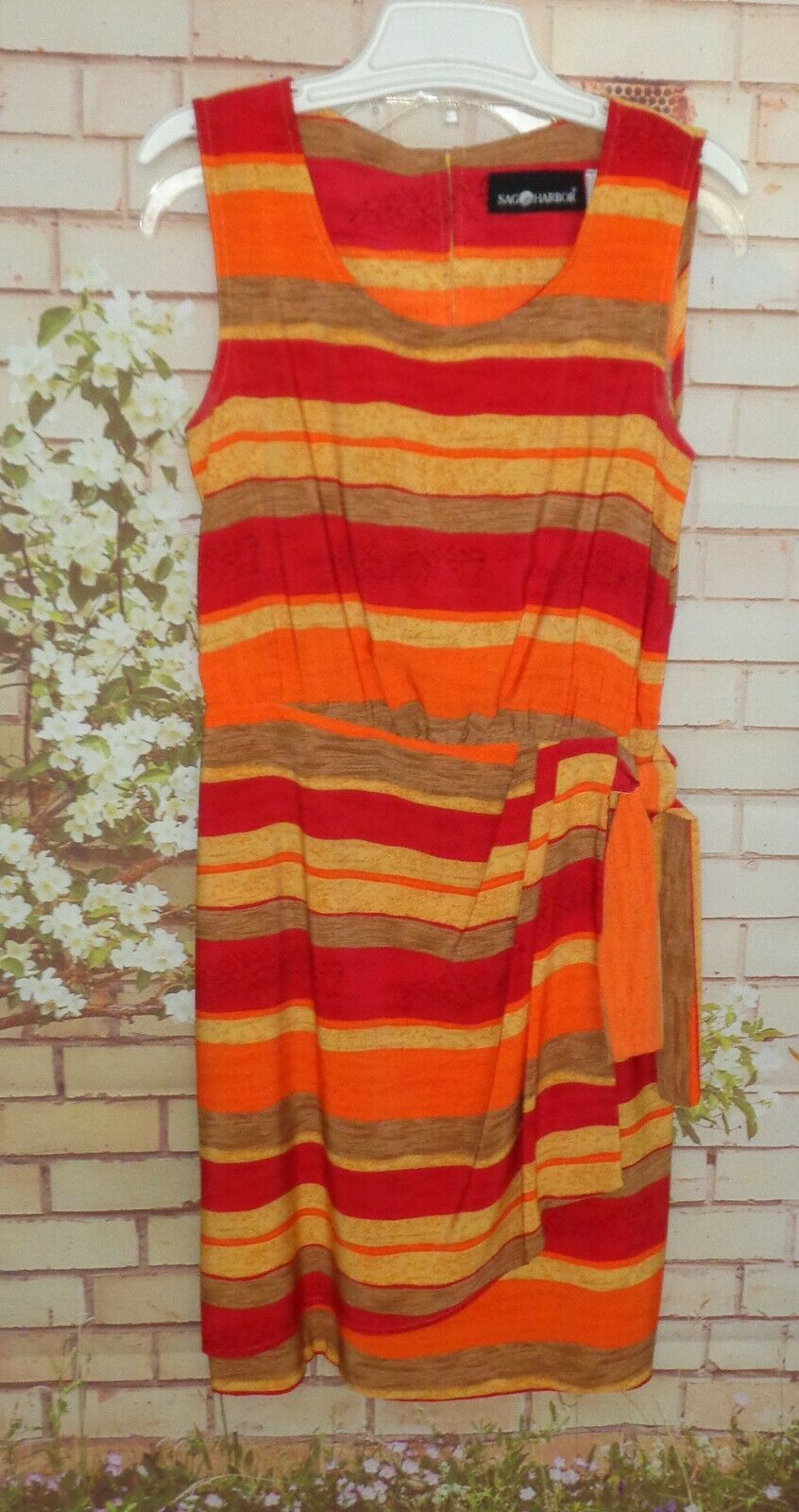 Summer Dress size 12 Reminders me of a day at beach on