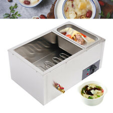 Electric Bain Marie Buffet Steamer 3 Pot Countertop Food Warmer Steam Table 850w