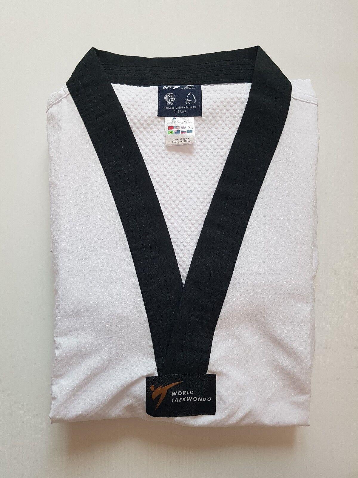 Taekwondo Uniform Pine Tree WT Fighter Dan Dobok