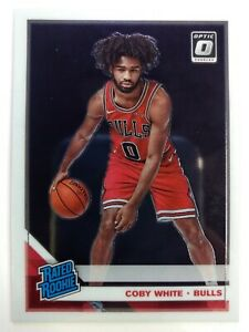 2019-20-Panini-Donruss-Optic-Rated-Rookie-Coby-White-RC-180-Chicago-Bulls
