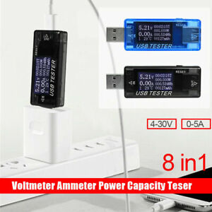 1-Digital-USB-Tester-DC4-30V-LCD-Display-KWS-MX17-Detektor-Messgeraet-Zubehoer