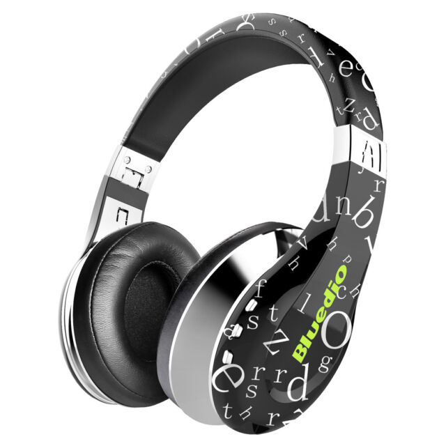 Bluedio A ( Air ) auriculares inalámbricos Bluetooth de diadema plegable Negro