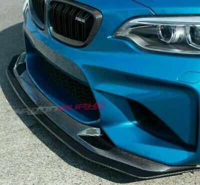 BMW M2 DTM Carbon Fibre double Front Splitter - F87 - Adjustable  Aerodynamics | eBay
