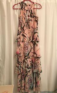 tommy hilfiger pink floral dress