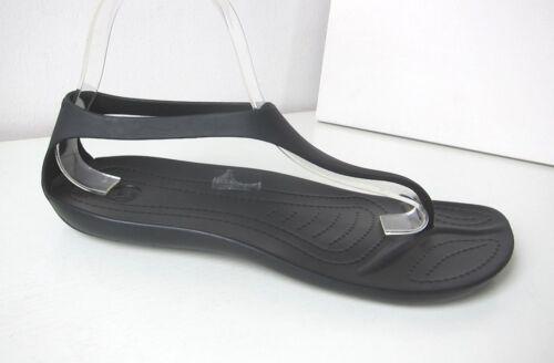 Crocs Sexie Flip Sandale w 5-11 35-42 Sandals Noir prisonniers Black Rose Marron