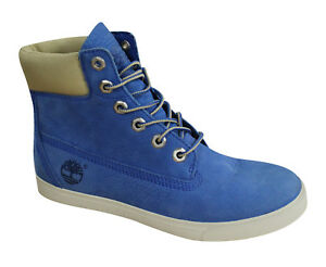 559ee44438f1 Image is loading Timberland-6-Inch-Earthkeepers-Deering-Blue-Leather-Womens-