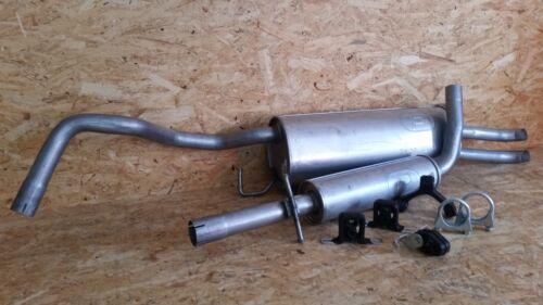 Kit De Montage * VW BORA 1.4 16 V//1.6 16 V//1.9 SDI échappement complet incl