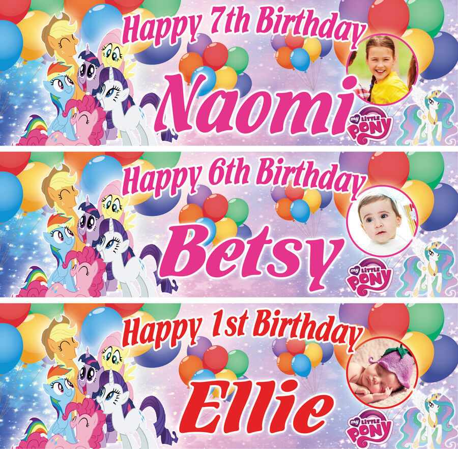 2 x personalised birthday banners dinosaucers children nursery balloons party