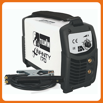 Saldatrice Inverter ad elettrodo Telwin INFINITY 170 Synergic 230V 816080 cod