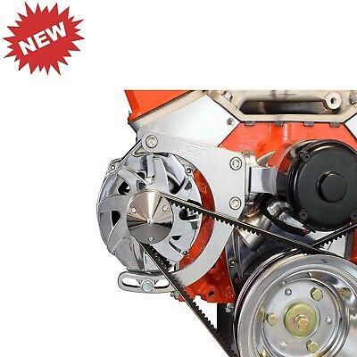 SBC Alternator Bracket Adjustable Electric WaterPump Small Block Chevy Mount Kit