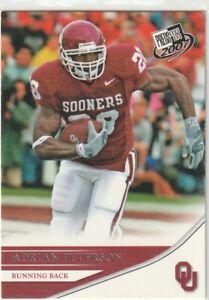 2007 Press Pass #11 Adrian Peterson Rookie Vikings Redskins Oklahoma VERY NICE