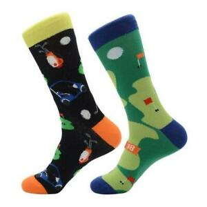 Mens-Crew-Socks-18-Holes-Sock-Novelty-Funny-Funky-Happy-Bright-Cool