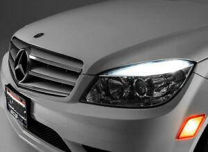 4-ampoules-a-LED-Blanc-Veilleuses-Feux-de-Position-pour-Mercedes-classe-C-w204