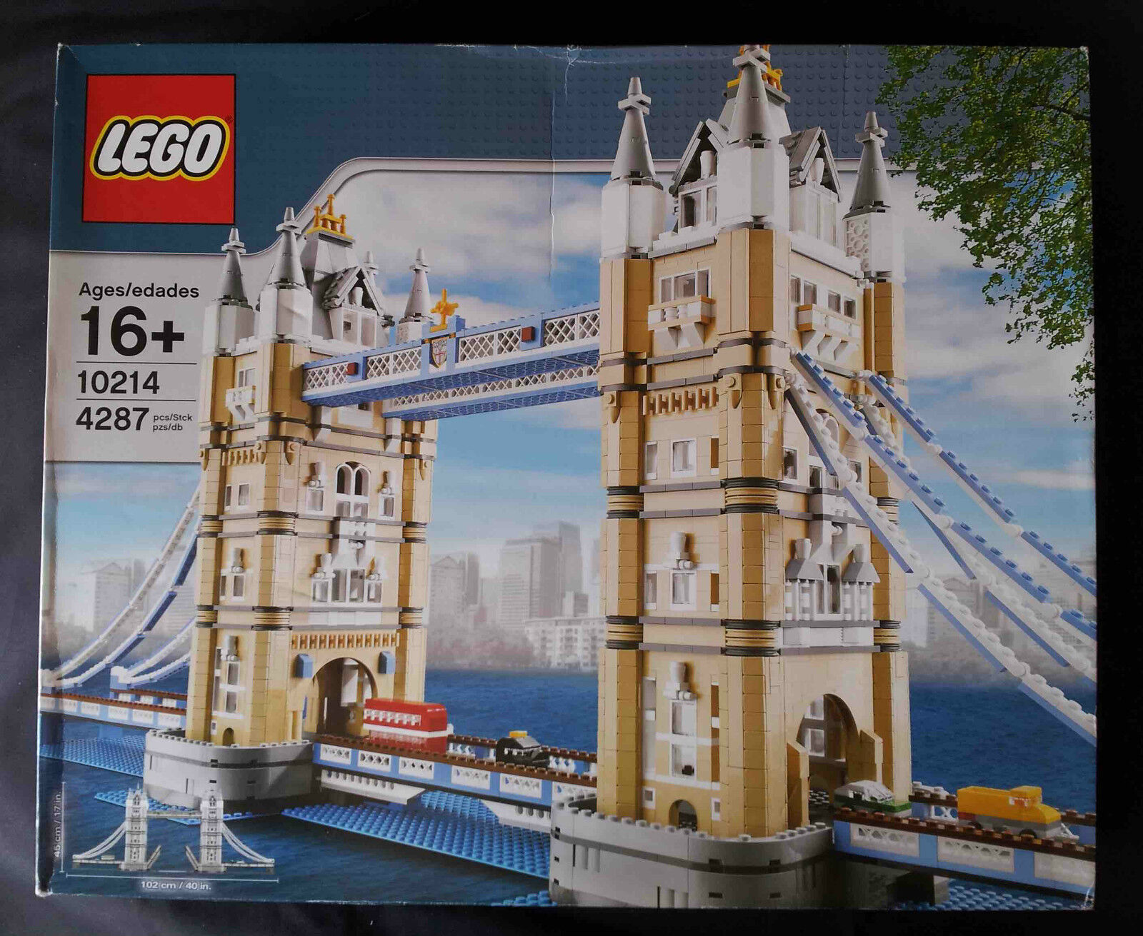 LEGO EXPERT MODELS 10214 - TOWER BRIDGE  NUEVO SELLADO   NEW SEALED