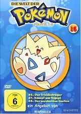 DIE WELT DER POKEMON 16   1. Staffel / 46-48    DVD #ZZ   Pokémon